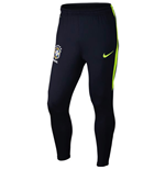 2016-2017 Brazil Nike Strike Training Pants (Dark Obsidian)
