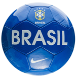 2016-2017 Brazil Nike Supporters Football (Blue)