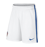 2016-2017 Croatia Nike Home Shorts (White)
