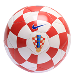 2016-2017 Croatia Nike Supporters Football (Red-White)