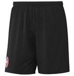 2016-2017 Denmark Away Adidas Football Shorts (Black)