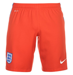 2016-2017 England Nike Away Shorts (Red)