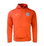 2016-2017 England Nike Core Hoody (Red) - Kids