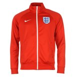 2016-2017 England Nike Core Trainer Jacket (Red)