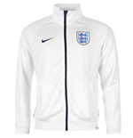 2016-2017 England Nike Core Trainer Jacket (White)