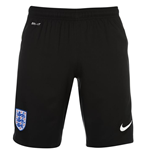 2016-2017 England Nike Home Goalkeeper Shorts (Black) - Kids
