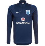 2016-2017 England Nike Training Drill Top (Navy)
