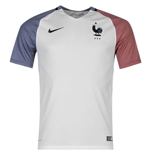 2016-2017 France Away Nike Football Shirt