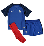 2016-2017 France Home Nike Baby Kit