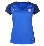 2016-2017 France Home Nike Womens Shirt