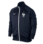 2016-2017 France Nike Core Trainer Jacket (Navy)