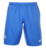 2016-2017 France Nike Home Shorts (Blue) - Kids