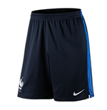 2016-2017 France Nike Strike Knit Shorts (Navy)