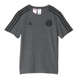 2016-2017 Germany Adidas 3S Tee (Grey)