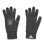 2016-2017 Germany Adidas Gloves (Dark Grey)