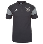 2016-2017 Germany Adidas Players Polo Shirt (Grey)