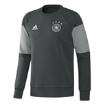 2016-2017 Germany Adidas Sweat Top (Grey) - Kids