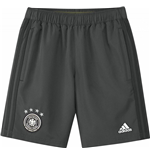 2016-2017 Germany Adidas Woven Shorts (Grey)