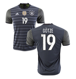 2016-2017 Germany Away Shirt (Gotze 19)