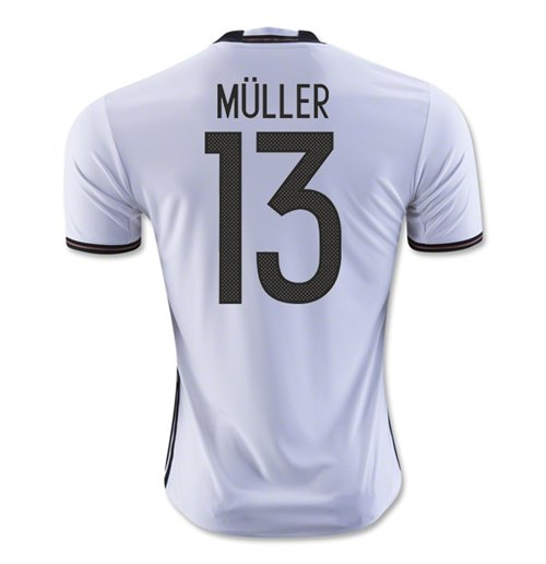 2016-2017 Germany Home Shirt (Muller 13) - Kids