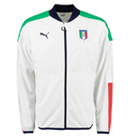 2016-2017 Italy Puma Stadium Jacket (White)
