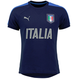 2016-2017 Italy Puma Casual Performance Shirt (Navy)