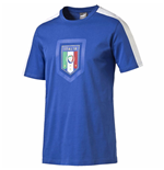 2016-2017 Italy Puma Fanwear Badge Tee (Blue)