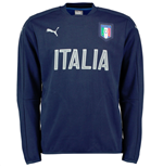 2016-2017 Italy Puma Performance Crew Neck Sweater (Navy)