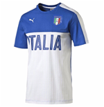 2016-2017 Italy Puma Fanwear Graphic Tee (White) - Kids