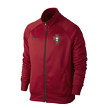 2016-2017 Portugal Nike Core Trainer Jacket (Red)