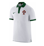 2016-2017 Portugal Nike Core Polo Shirt (White)