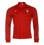 2016-2017 Portugal Nike Authentic N98 Track Jacket (Red)
