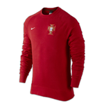 2016-2017 Portugal Nike Authentic AW77 LS Crew (Red)