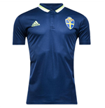 2016-2017 Sweden Adidas Polo Shirt (Navy)