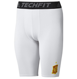 2016-2017 Spain Adidas Techfit Shorts (White)