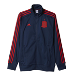 2016-2017 Spain Adidas 3S Track Top (Night Indigo)