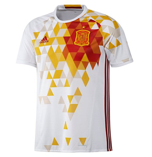 2016-2017 Spain Away Adidas Football Shirt