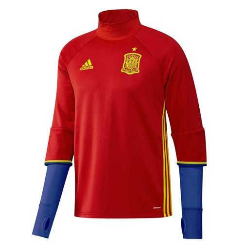 2016-2017 Spain Adidas Training Top (Red)