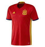 2016-2017 Spain Home Adidas Football Shirt (Kids)