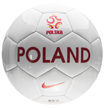 2016-2017 Poland Nike Supporters Football (White)