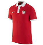 2016-2017 Poland Nike Core Polo Shirt (Red)
