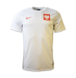 2016-2017 Poland Home Nike Supporters Shirt