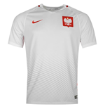 2016-2017 Poland Home Nike Football Shirt
