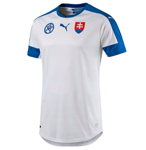 2016-2017 Slovakia Home Puma Football Shirt