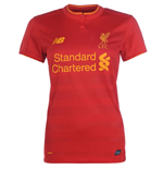 2016-2017 Liverpool Home Ladies Football Shirt