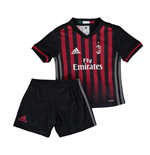 2016-2017 AC Milan Adidas Home Mini Kit