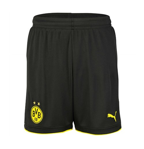 2016-2017 Borussia Dortmund Home Puma Shorts (Black)