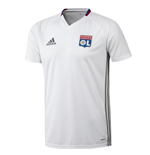 2016-2017 Olympique Lyon Adidas Training Shirt (White)