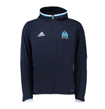 2016-2017 Marseille Adidas Presentation Jacket (Night Navy)