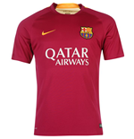 2015-2016 Barcelona Nike Pre-Match Training Shirt (Dynamic Berry) - Kids